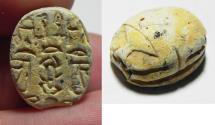 Ancient Coins - ANCIENT EGYPT - NEW KINGDOM STONE SCARAB. 1400 B.C