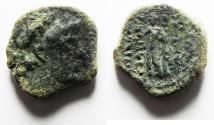 Ancient Coins - SELEUKID KINGS of SYRIA. Demetrios III AE 17