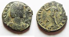 Ancient Coins - GALERIA AE FOLLIS. NICE ORIGINAL PATINA