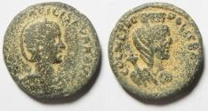 Ancient Coins - Arabia. Bostra under Otacilia Severa (AD 244-249).  AE 27mm, 14.99gm