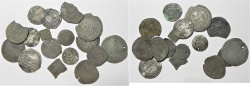 Ancient Coins - LOT OF 17 SILVER ANCIENT ISLAMIC SILVER COINS