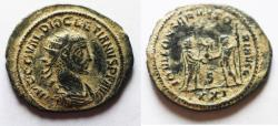 Ancient Coins - DIOCLETIAN AE ANTONINIANUS. BEUTIFULL