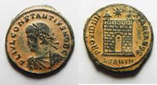 Ancient Coins - CONSTANTIUS II AE 3 . ANTIOCH