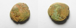 Ancient Coins - Elymais Dynasty, Phraates Early mid 2nd century AD - Æ drachm