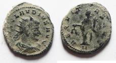 Ancient Coins - CLAUDIUS II GOTHICUS AE ANTONINIANUS. AS FOUND