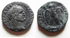 Ancient Coins - Seleucis and Pieria. Antioch. Vespasian. 69-79 AD. AR Tetradrachm (12.17 gm). Struck year 2 (69-70 AD).