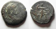 Ancient Coins - Egypt. Alexandria under Antoninus Pius (AD 138-1610. AR drachm (33mm, 24.26g). Struck in regnal year 5(?) (AD 141/142).