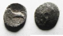 Ancient Coins - Seleukos. Satraps of Babylon, Circa 328-311 BC. SILVER OBOL