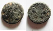 Ancient Coins -  KYRENAICA, Kyrene. Circa 308-277 BC. Æ 21