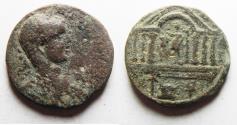Ancient Coins - PHOENICIA. TYRE. ELAGABALUS AE 26