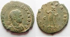 Ancient Coins - CONSTANTINE II AE FOLLIS. ARLES MINT