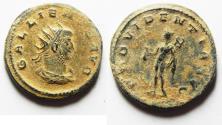 Ancient Coins - GALLIENUS AE ANTONINIANUS. ORIGINAL DESERT PATINA