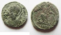 Ancient Coins - CONSTANTINE I THE GREAT AE 3 . COMMEMORATIVE ISSUE. AS FOUND