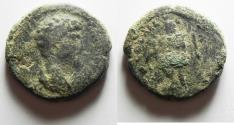 Ancient Coins - AS FOUND: Judaea. Aelia Capitolina under Lucius Verus (AD 161-169) AE 31mm, 19.73g.