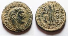 Ancient Coins - AS FOUND: CONSTANTINE I AE FOLLIS