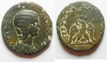 Ancient Coins - Phoenicia. Tyre under Julia Domna (AD 193-217). AE 26mm. Unpublished!