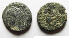 Ancient Coins - Mesopotamia Edessa. ELAGABALUS AE 16