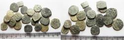World Coins - ISLAMIC. MAMLUK. LOT OF 20 AE FALS COINS. AS FOUND. GREAT STUDY GROUP!
