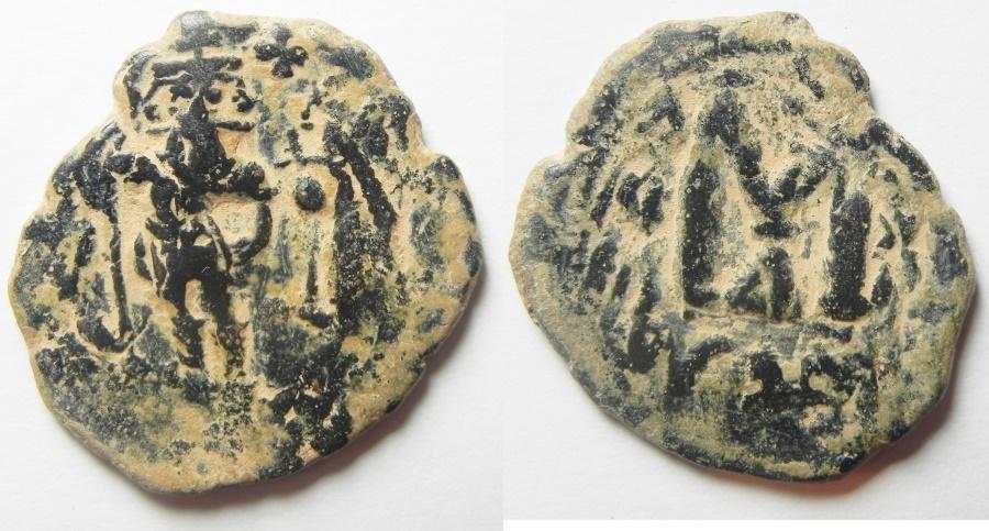 Ancient Coins - Constans II. 641-668. Æ follis