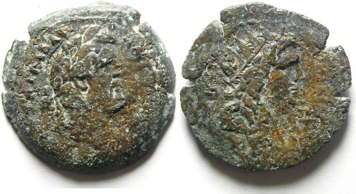 Ancient Coins - EGYPT , ALEXANDRIA , ANTONINUS PIUS RARE AE DRACHM