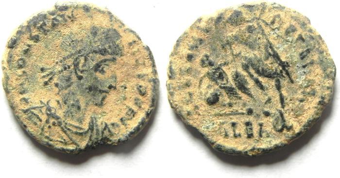 Ancient Coins - CONSTANTIUS II AE 3 ,ALEXANDRIA MINT
