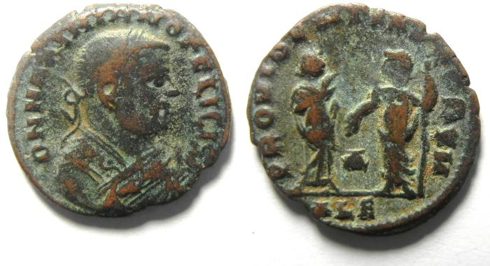 Ancient Coins - MAXIMIAN HALF FOLLIS OF ALEXANDRIA , RARE