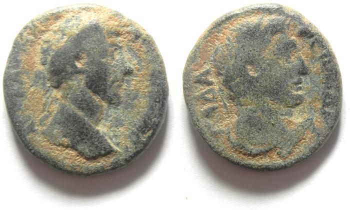 Ancient Coins - LUCIUS VERUS, DECAPOLIS, GADARA