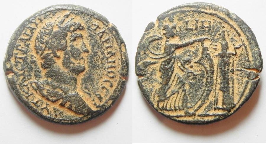 Ancient Coins - EGYPT, Alexandria. Hadrian. AD 117-138. Æ Drachm