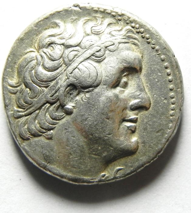 Ancient Coins - Ptolemaic Kingdom. Ptolemy II Philadelphos. 285-246 BC. AR Tetradrachm , Ake - Ptolemais (akko) mint, VERY HIGH QUALITY!!!!