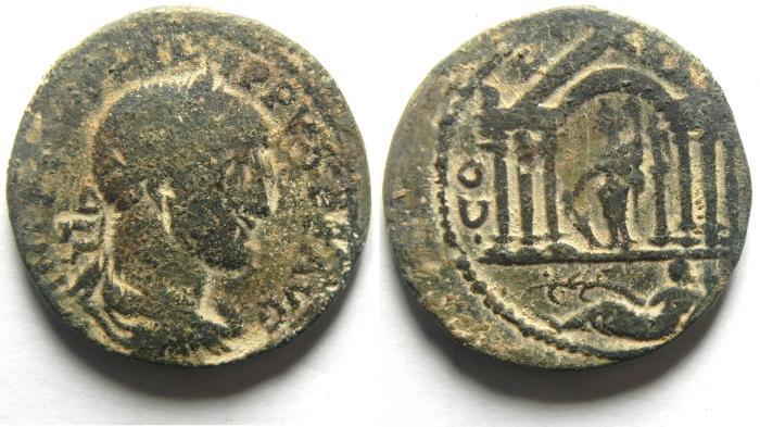 Ancient Coins - PHOENICIA, Akko Ptolemais (AKKO , ISRAEL). Philip I, AD 244-249, Æ 29mm , VERY RARE!!!!!!!