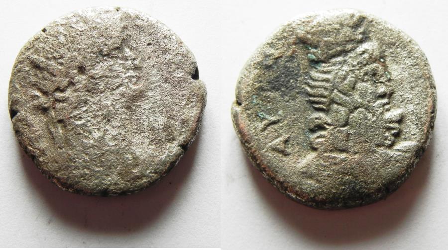 Ancient Coins - EGYPT. ALEXANDRIA. NERO BILLON TETRADRACHM