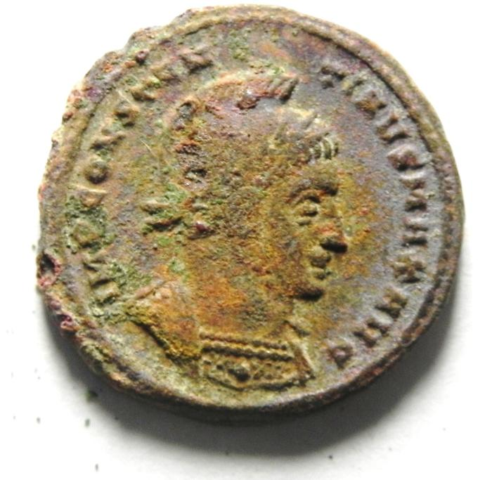 Ancient Coins - CONSTANTINE I AE 3 , SCARCE , NEEDS CLEANING.
