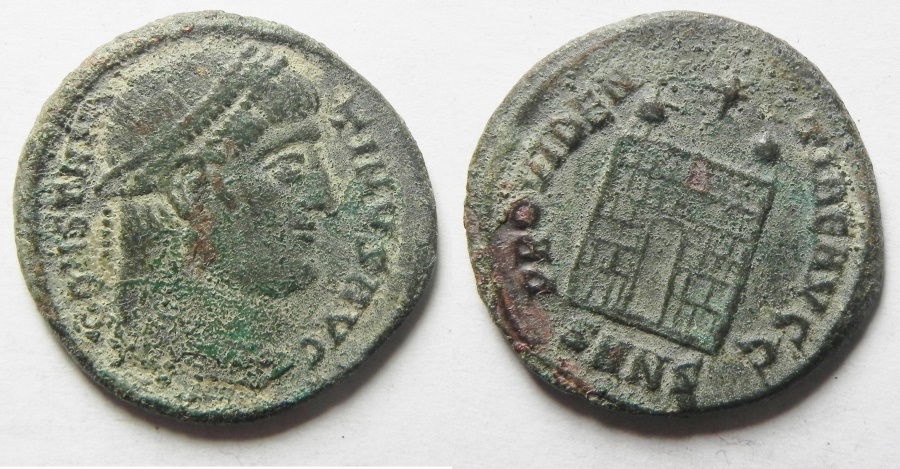 Ancient Coins - CONSTANTINE I THE GREAT AE 3
