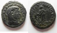 Ancient Coins - MAXIMIANUS AE FOLLIS. CARTHAGE
