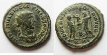 Ancient Coins - BEAUTIFUL AS FOUND DIOCLETIAN ANTONINIANUS