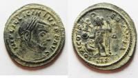 Ancient Coins - BEAUTIFUL AS FOUND. LICINIUS I AE FOLLIS
