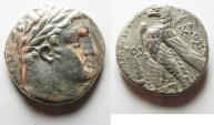 Ancient Coins - 30 PCS OF SILVER: Phoenicia. Tyre. AR shekel (24mm, 13.87g). Struck in civic year 171 (AD 45/6).