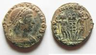 Ancient Coins - AS FOUND CONSTANTINE I AE 3