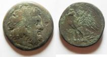 Ancient Coins - PTOLEMAIC KINGDOM. PTOLEMY II AE 27. NEEDS CLEANING
