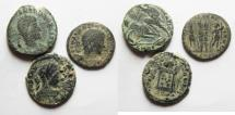 Ancient Coins - LOT OF 3 ROMAN AE COINS. AS FOUND