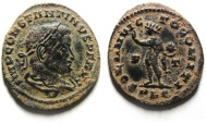 Ancient Coins - BEAUTIFUL , LARGE FLAN CONSTANTINE I AE FOLLIS