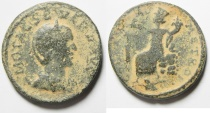 Ancient Coins - Syria. Coele Syria. Damascus under Otacilia Severa (AD 244-249). AE 28mm, 14.77gm.