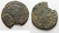 Ancient Coins - DOUBLE-STRUCK: CONSTANTINE I AE FOLLIS