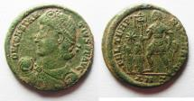 Ancient Coins - CONSTANTIUS II AE CENT. ANTIOCH MINT