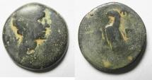 Ancient Coins - ROMAN PROVINCIAL. EGYPT. ALEXANDRIA UNDER OCTAVIAN (C. 30-28 BC). AE 80 DRACHMS.