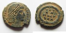 Ancient Coins - AS FOUND: CONSTANTIUS II AE 4