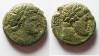 Ancient Coins - Decapolis. Philadelphia . Domitian , Titus. Nice Quality