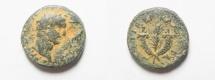 Ancient Coins - JUDAEA. GALILEE. TIBERIAS. TRAJAN AE 18