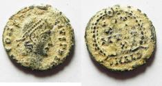 Ancient Coins - CONSTANS AE 4 . ALEXANDRIA MINT. ORIGINAL DESERT PATINA