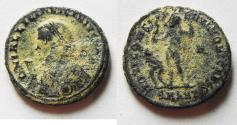 Ancient Coins - LICINIUS I AE 3 . AS FOUND